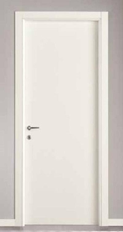 Porte interne in laminato mod. Top ( telaio in listellare e coprifili in  multistrato)