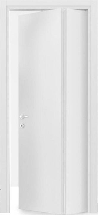 Porte interne. mod. Libro Asimmetrica F ( telaio in legno di abete e  coprifili in Hdf )
