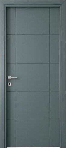 Porte interne laccate incise, Mod. PLFH (Forte H - DIERRE )