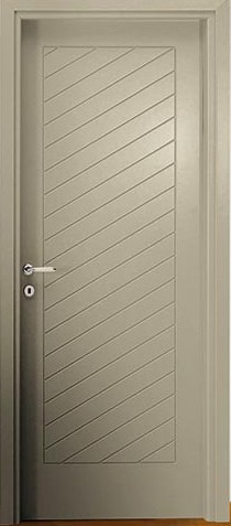 Porte interne laccate incise, Mod. PLF3  (Forte 3 - DIERRE )