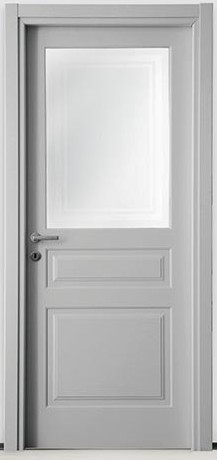Porte Interne In Vetro.Porte Interne Laccate A Vetro Mod Pl3 V Danieli 3 Vetro Dierre