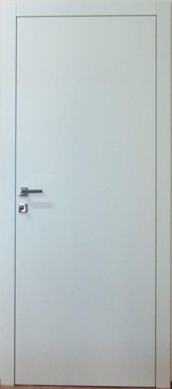 Porta complanare con telaio e coprifili mod b apertura - Porta a spinta ...