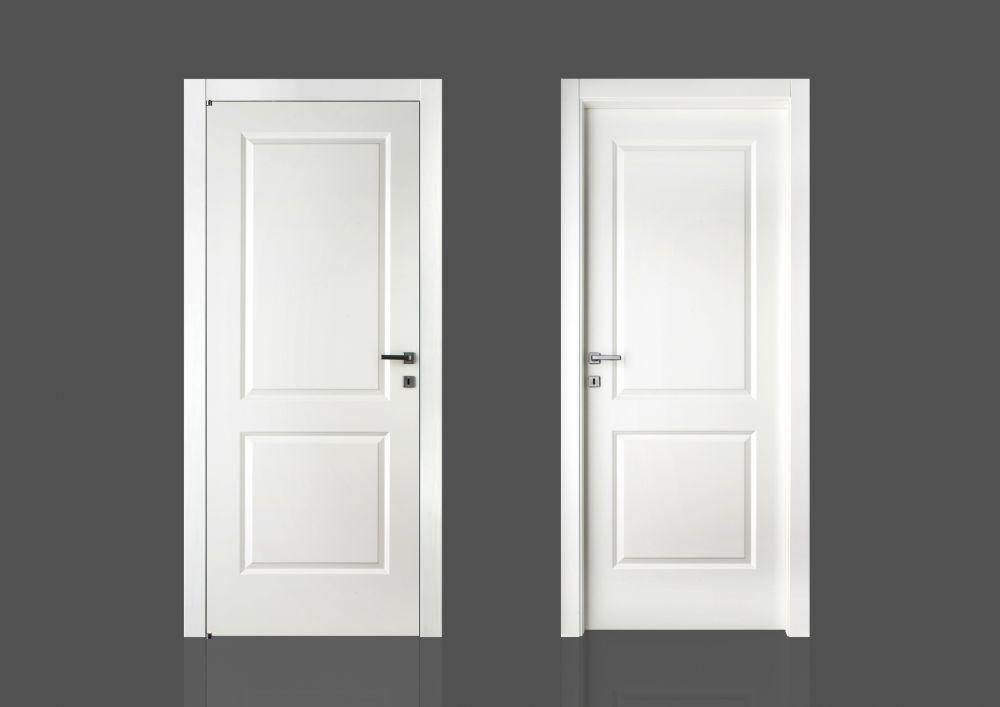 Porte per interni economiche mod 2b laccato serie complanare porte laccate mod 2b serie - Porte per interni economiche ...