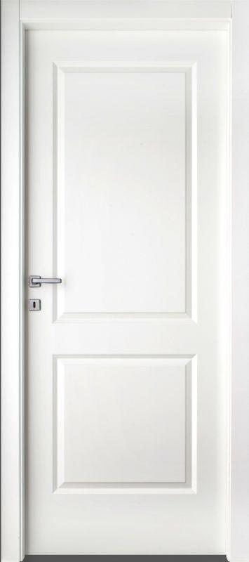 Porte per interni economiche Mod. 2B Laccato serie complanare, Porte ...