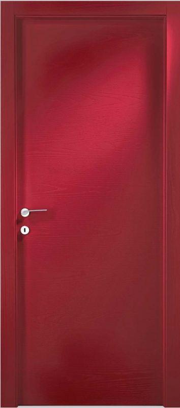 Vendita porte per interni porte tamburate online porte interne laccate mod pt laccata ral a - Come verniciare porte interne ...