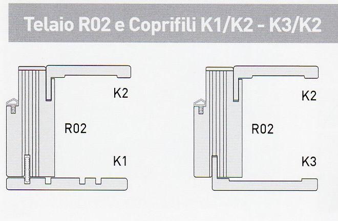 Porte interne listellari, MOD. 3LC