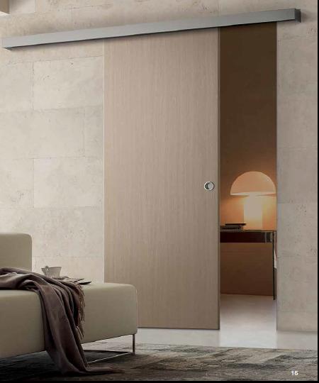 Porte scorrevole esterno muro mod base for Porte scorrevoli esterno muro economiche
