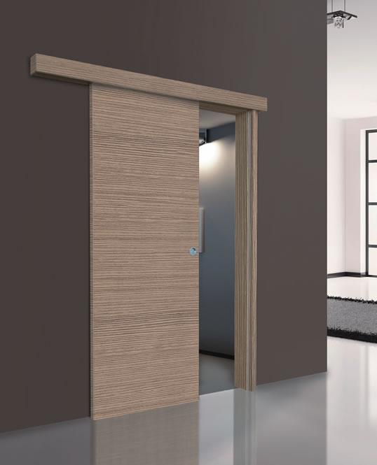 Vendita porte per interni porte tamburate online porta scorrevole esterno muro mod pt isy 1 - Porta scorrevole da interno ...